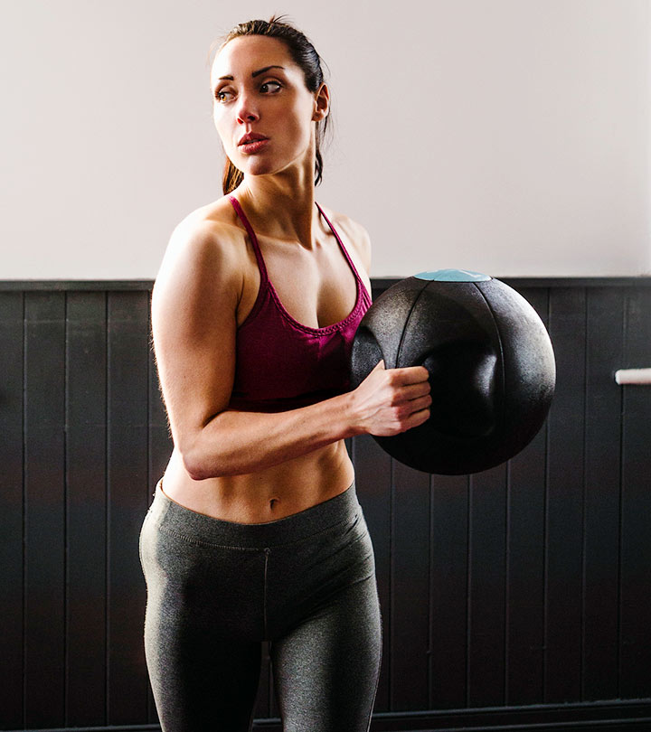 Medizinball Slam Workout – Wie es zu tun und was sind ihre Vorteile?