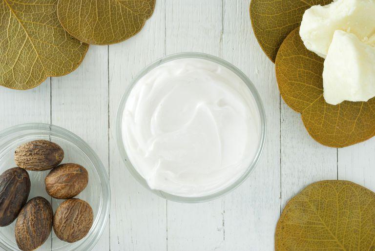Shea Butter Nutrition Fakta - kalorier, kolhydrater och hälsofördelar med sheasmör