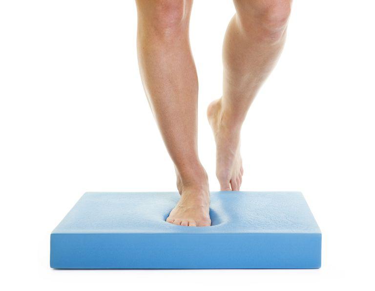 Как да направя един крак Поза - правилна форма, Вариации и често срещани грешки