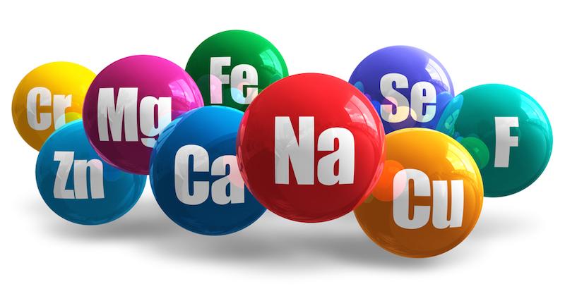 Essentielle mineraler at holde dig sund og hvor kan man finde dem