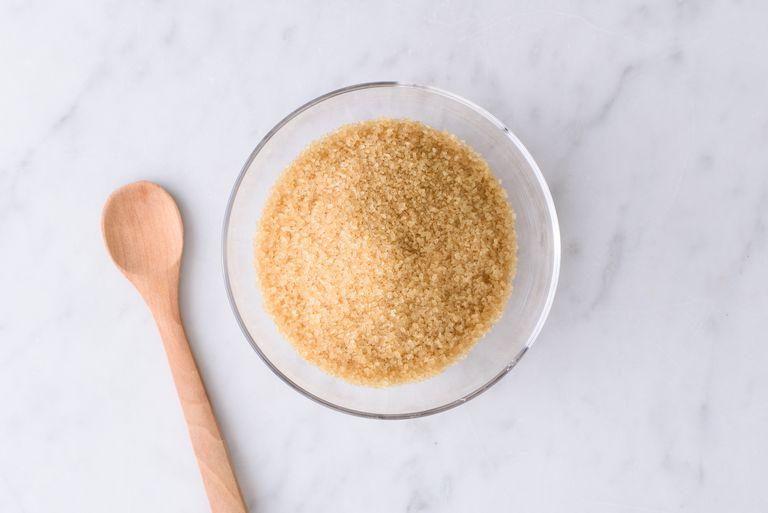 Datos de azúcar turbinado Nutrición - calorías, carbohidratos y beneficios para la salud de azúcar turbinado