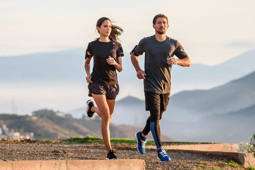 Forskellen mellem jogging og Løb