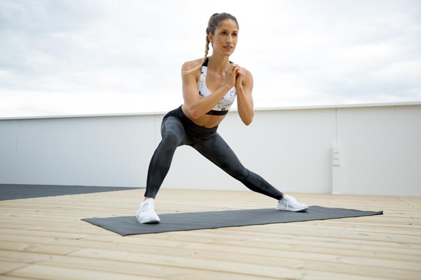 Total Body Kraft, Gleichgewicht und Stabilität Workout