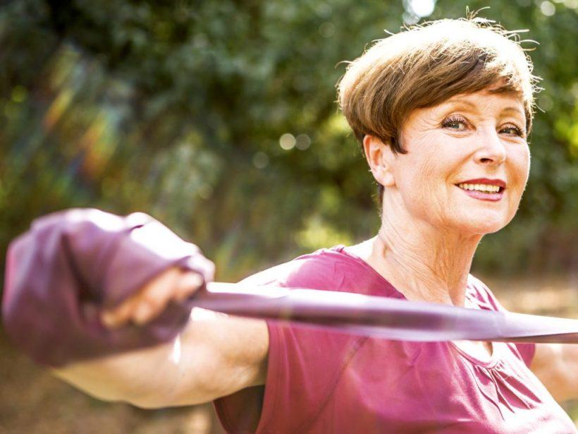 Total Body Workout Forza per Anziani