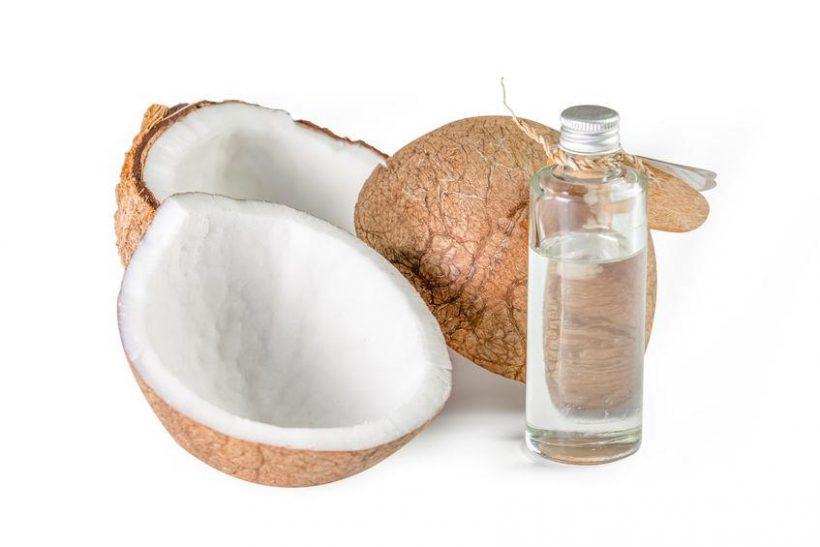 Fractionnées Faits huile de coco Nutrition, utilisations et avantages