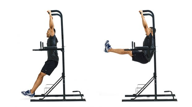 Hvordan å gjøre Hanging Leg Hever: Step-by-trinn-instruksjoner
