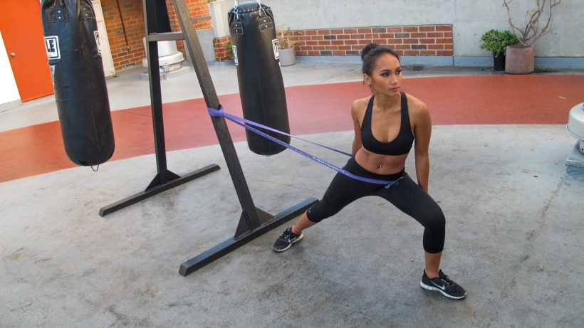 Begynder Total Body Resistance Band Workout