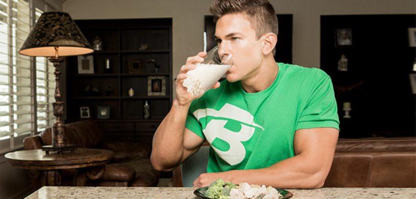 Молочный белок главно для роста мышц