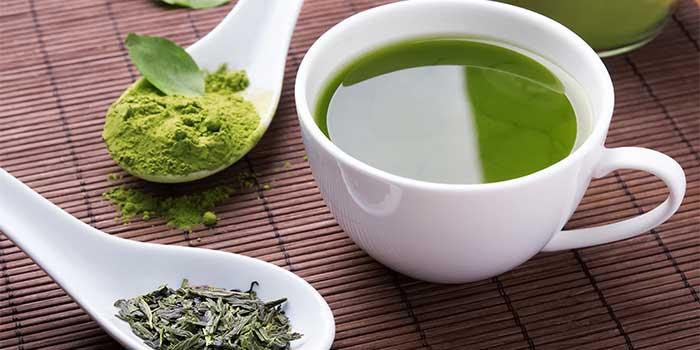 Zdravotní výhody zeleného čaje doplňky